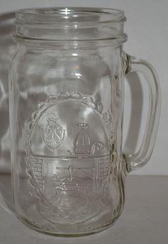 Country Hearth Widemouth Mason Drinking Jar by Anchor Hocking 32 oz. #AnchorHocking