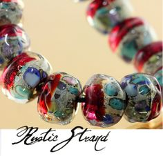 sari rainbow lampwork bead jewelry the beading gemu0027s journal lamp and flame pinterest gem s