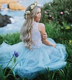 Audrey sleeveless lace top and tulle skirt by Bliss Tulle