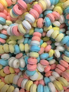 Candy necklaces.  Just like you remember.  Penny candy time machine!