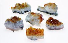 Citrine Gemstone Cluster - Solar Gemstone of Cleansing Power