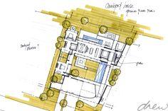 drew architects | new house linger longer | sketch