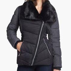 Buffalo by David Bitton Faux Fur Collar Jacket