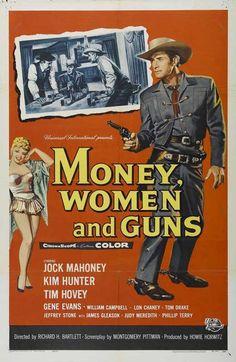 Money, Women And Guns (1958) - Jock Mahoney DVD