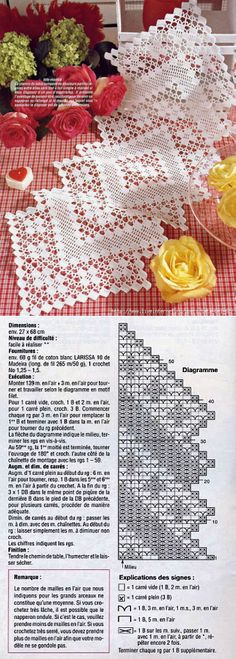 Can anyone please please please translate this for me or point me to an English pattern? Crochet Flower Squares, Crochet Ripple, Crochet Circles, Crochet Pillow, Filet Crochet, Crochet Motif, Crochet Doilies, Crochet Art, Crochet Placemat Patterns
