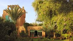 Villa Dar Batma in Marrakech - View of the house