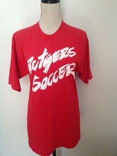 21b06db4f Vintage Rutgers University Soccer PUMA T-shirt