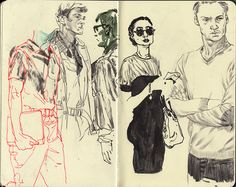 drawing Illustration fashion Moleskine sketchbook