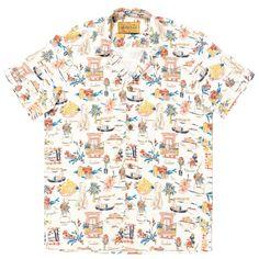 Lena Hoschek - Sonny Shirt Dolce Vita - Cruise Collection // Pictures by LupiSpuma  #lenahoschek #lenahoschekcruisecollection #lenahoschekformen #vacationmood #italyvibes #mensshirt #bowlingshirt #summershirt #summerfeeling #holidaymood