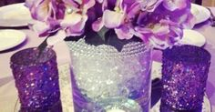 A sweet centerpiece that's classic and simple :)