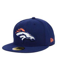 New Era Denver Broncos Official On Field Fitted Cap Men - Sports Fan Shop  By Lids - Macy s 60eee42cd620