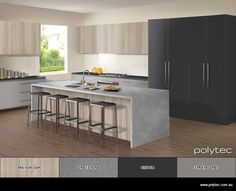 Design your own colour schemes for Kitchens and Wardrobes. Choose your colours…