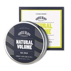 Etude House Gentle Black Natural Volume Gel Wax 65G * More info could be found at the image url.