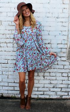 Periwinkle Darling Dress by Entro clothing, Anthropologie, Boho Fashion, Bohemian Style, Free People style. Pullover empire waist tiered dress.  Tiered & ruffled bell sleeves.  Fully lined Skirt.  Back featured crochet lace insert.  Rounded neckline.  Lace, Polyester, Rayon