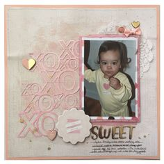 I created this layout for a new YouTube challenge that Mari Clarke and I are doing called Scrap the Challenge. This week we challenged ourselves to use a silhouette cut file.