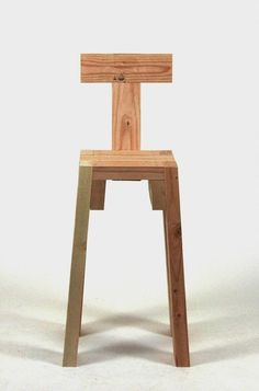"""New Stools Series of stools in different heights, with and without back. """"Real- Stool"""" Searching for comfort. Recycled Furniture, Unique Furniture, Pallet Furniture, Furniture Making, 2x4 Wood Projects, Cool Woodworking Projects, Wood Crafts, Wood Stool, Stool Chair"""