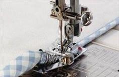 Patka na lemování textilní páskou - Janome rot. chapač