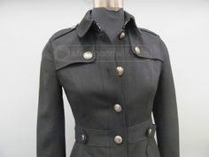 shopgoodwill.com - #39161472 - GORGEOUS Burberry Women's Pleated Back Blazer SZ4 - 5/1/2017 6:52:00 PM