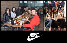 Yeşilyurt AVM'nin düzenlemiş olduğu ve kahvaltı ödüllü 12 Aralık mağazacılar günü fotoğraf yarışmasını kazanan Nike ekibi..