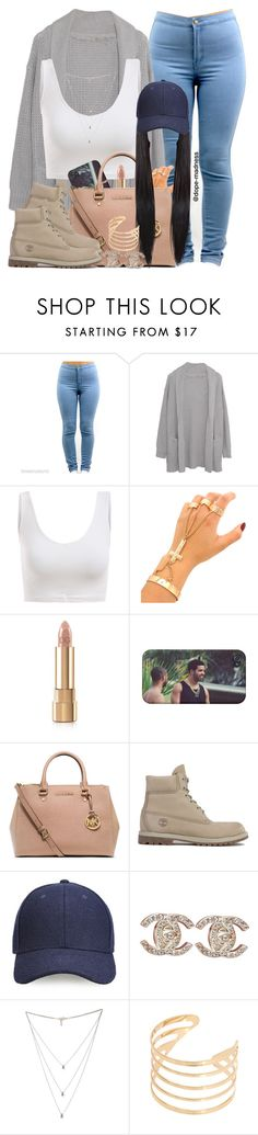 """"""""""" by dope-madness ❤ liked on Polyvore featuring Margaret O'Leary, Dolce&Gabbana, MICHAEL Michael Kors, Timberland, Whistles, Chanel and Isabel Marant"""
