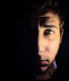 Light and Dark, Face Photo