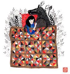 gouache on paper Dinara Mirtalipova
