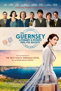 You are watching the movie The Guernsey Literary & Potato Peel Pie Society on Putlocker HD. Free-spirited writer Juliet Ashton forms a life-changing bond with the delightful and eccentric Guernsey Literary and Potato Peel Pie Society, when she decides 2018 Movies, Movies Online, Movies To Watch, Good Movies, Potato Peel Pie Society, Jumanji, Period Drama Movies, Period Dramas, The Guernsey Literary