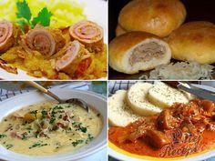 20 nejlepších sezónních receptů z kysaného zelí, strana 1 Mashed Potatoes, Shrimp, Cabbage, Food And Drink, Soup, Snacks, Dishes, Chicken, Meat