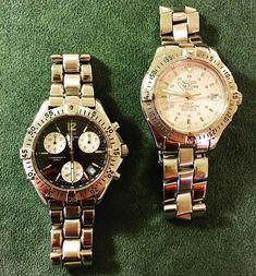 Black or White? Which one do you prefer? #breitling #breitlingwatch #breitlingwatches #breitlingvintagevintage watches   vintage watches for men   vintage watches men's   vintage horloges   horloges heren   SpiegelgrachtJuweliers.com