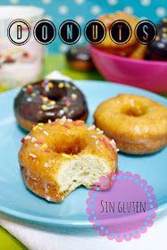 Receta de donuts con chocolate o baño de azúcar