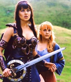 Xena warrior princess - used to watch this all the time!