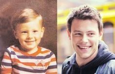 toddler Cory Monteith