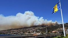 On the Spanish island of Tenerife, officials were on Thursday hoping that a drop in the wind would help them contain a forest fire that has been burning since Sunday.    Aircraft have been dropping water in an effort to contain the fire, which has led to the evacuation of Vilaflor, a town of about 1,800 people on the south side of the island.