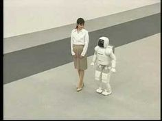 ASIMO running robot