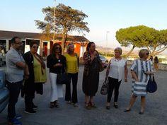 Matera - L'assessore Cangelli alla Passeggiata nel borgo fiorito