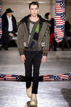 Raf Simons Fall/Winter 2014 - Paris Fashion Week #PFW | Male Fashion Trends