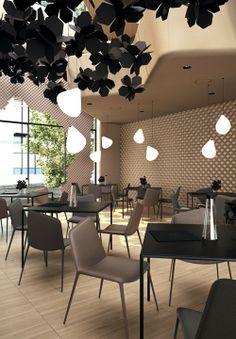 Hollow Restaurant Sergei Makhno Vasiliy Butenko CubeMe3 Restaurante Hueco por Sergei Makhno y Vasiliy Butenko
