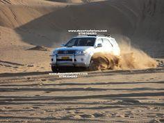 Take a hilarious adventureful ride in toyota fortuner over dunes   www.desertsafariors.com