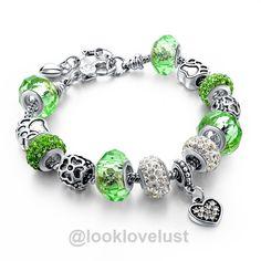 Tibetan Silver Blue Crystal Charm Bracelets-Bracelets-Look Love Lust, https://www.looklovelust.com/products/tibetan-silver-blue-crystal-charm-bracelets