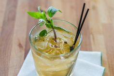This sous vide Thai basil syrup is our new favorite cocktail mixer. It's fantastic with rum or vodka and club soda, but would work well in many cocktail applications. This will keep in the fridge within an air-tight jar or container for up to one month.