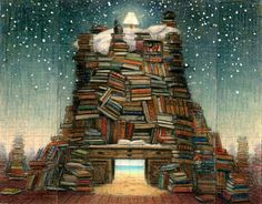 Jacek Yerka We sleep on the foundations of our knowledge, our fantasy, our ideas and our dreams.