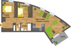 Rzut mieszkania Nasa, Floor Plans, Google, Facades, Fotografia, Facade, Floor Plan Drawing, House Floor Plans