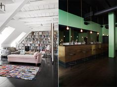 Love the library - the bar is not bad either:-) Found on Theapartment.dk