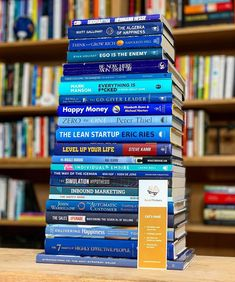 100 Books To Read, Good Books, Book Club Books, Book Lists, Best Self Help Books, Entrepreneur Books, Books Everyone Should Read, Books For Self Improvement, Life Changing Books