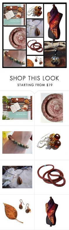 """""""Autumn Harvest"""" by inspiredbyten ❤ liked on Polyvore featuring Spode and vintage"""