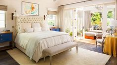 bedroom designed by Alison Hersel