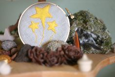 star embroidery from knittermama