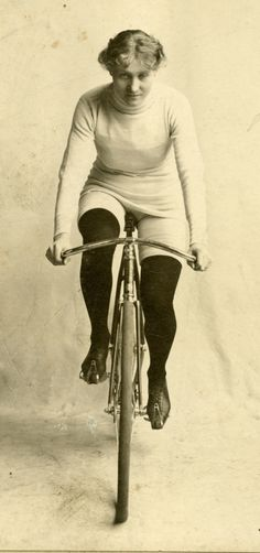 Early track racer Tilly from the 1880s