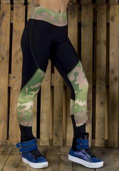 Legging Fitness Active Camuflada - Shopping de Atacado Trimoda  http://www.trimoda.com.br/collections/moda-fitness-atacado/products/legging-fitness-active-camuflada