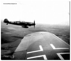 German fighters flying to Stalingrad